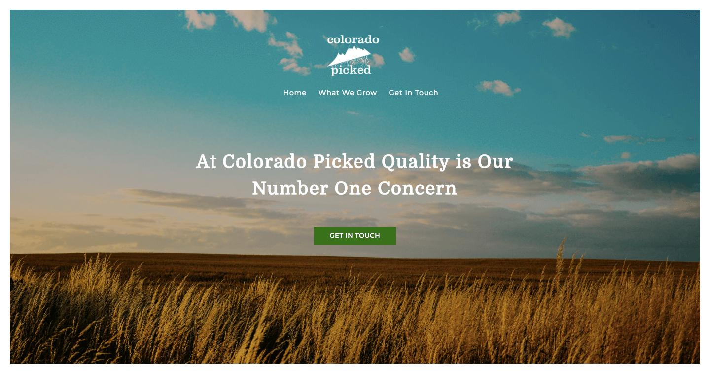 Colorado Picked