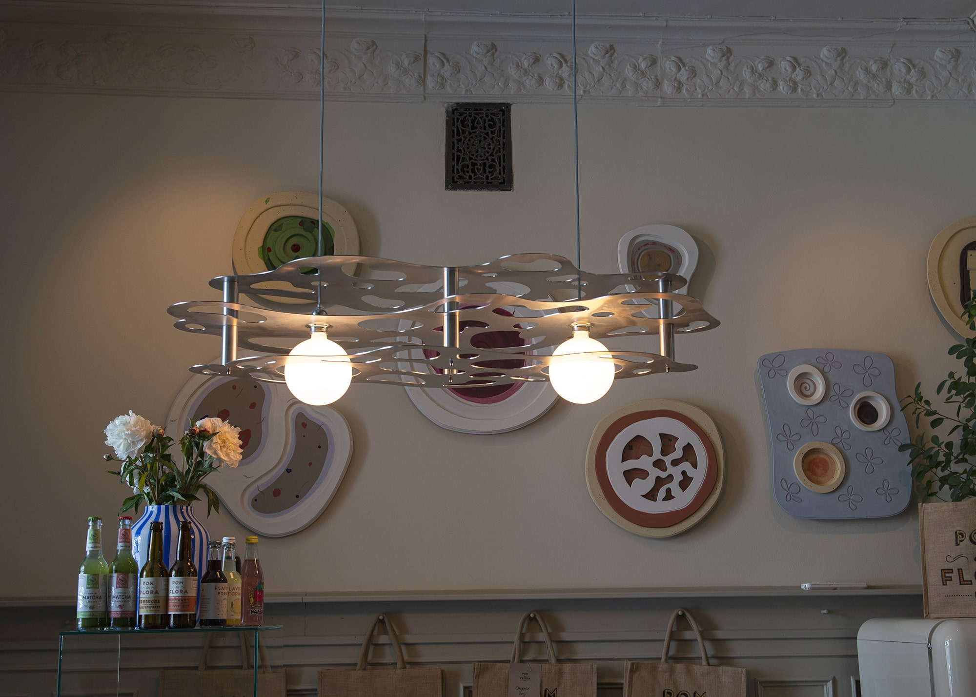 Custom Pom lamp