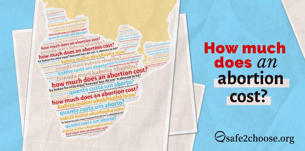 When deciding which abortion method to choose, cost can play a large role in the process. This blog highlights the range in pricing for abortion services in the Southern Africa region.