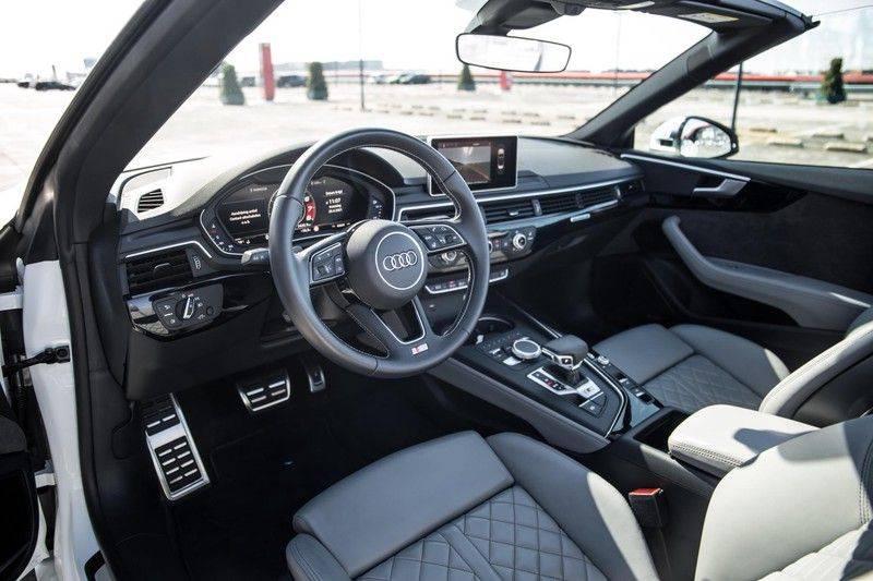 Audi A5 Cabriolet 3.0 TFSI S5 quattro   354 PK   S-Line   B&O Sound   Assistentie City-Parking   S-Sportstoelen   Virtual Cockpit   Keyless-entry   Massage-Stoelen   afbeelding 22