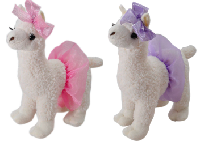 The Petting Zoo: Ballerina Llama Assortment with Tutu