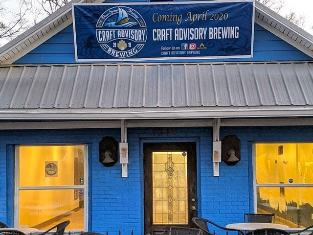 Craft Advisory Brewing in Ocean Springs, MS