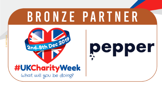 Pepper Charity Week partner