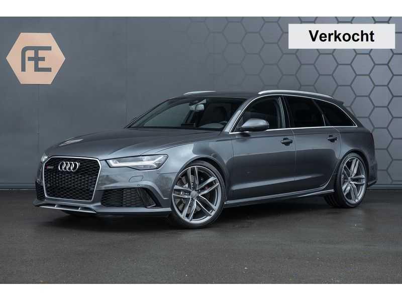 Audi RS6 Avant 4.0 TFSI quattro Pro Line Plus Vol leder + Stuurwielverwarming afbeelding 1