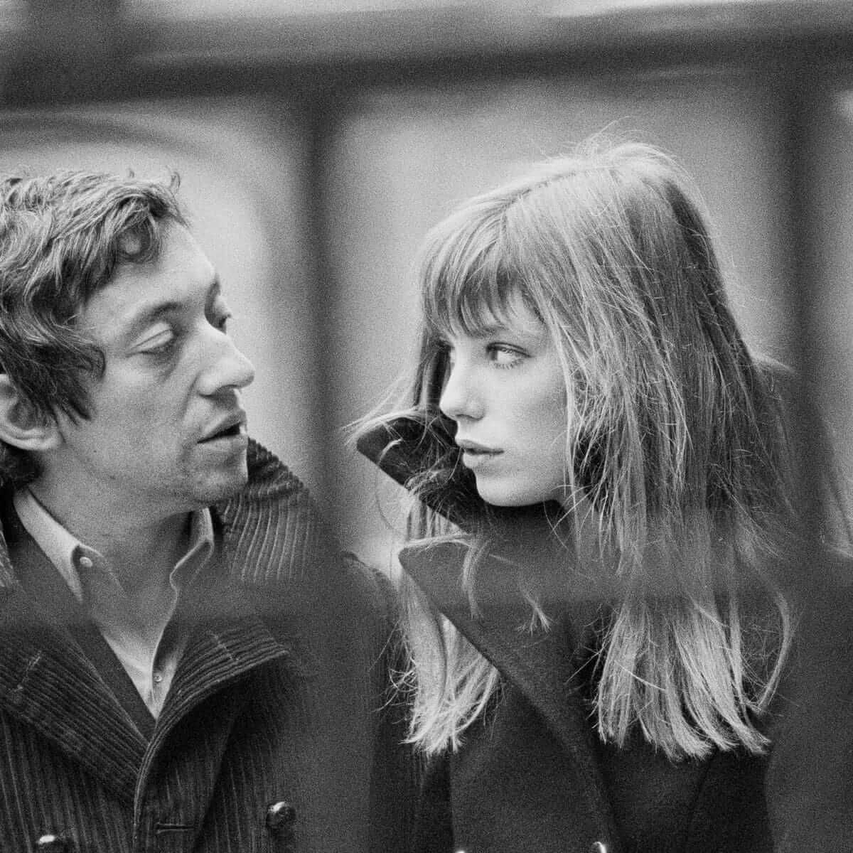 Серж Генсбур иДжейн Биркин вПариже, 1969год. Фото: Jacques Haillot / Sygma