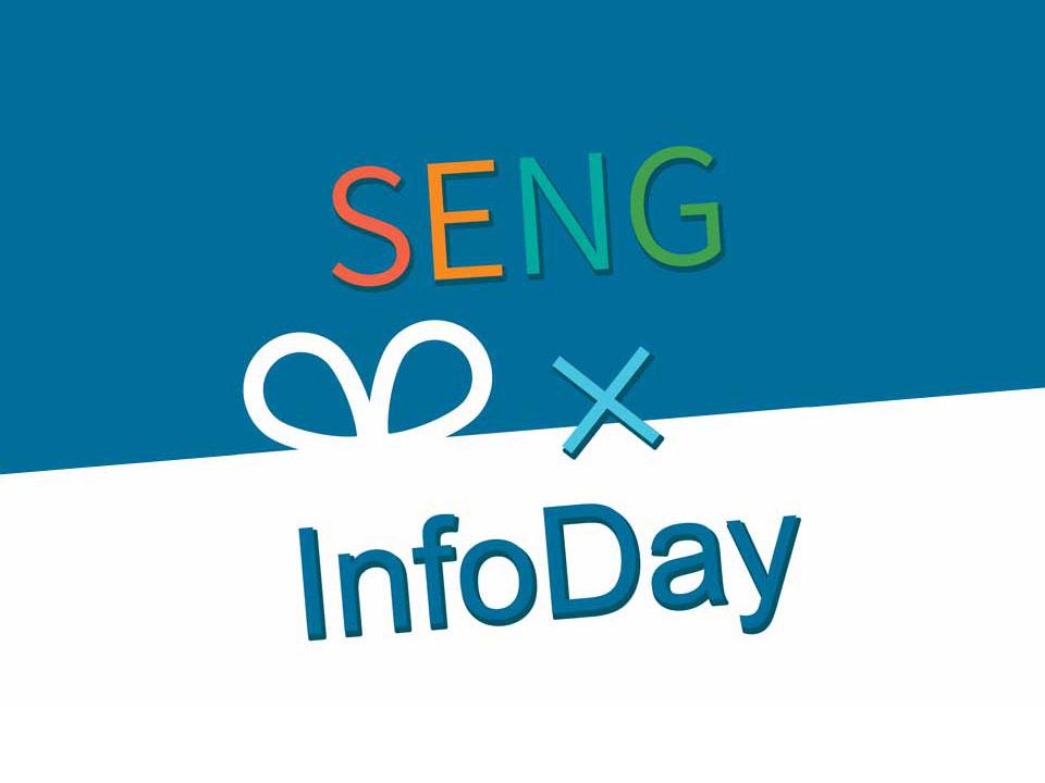 Logo of SENG X InfoDay
