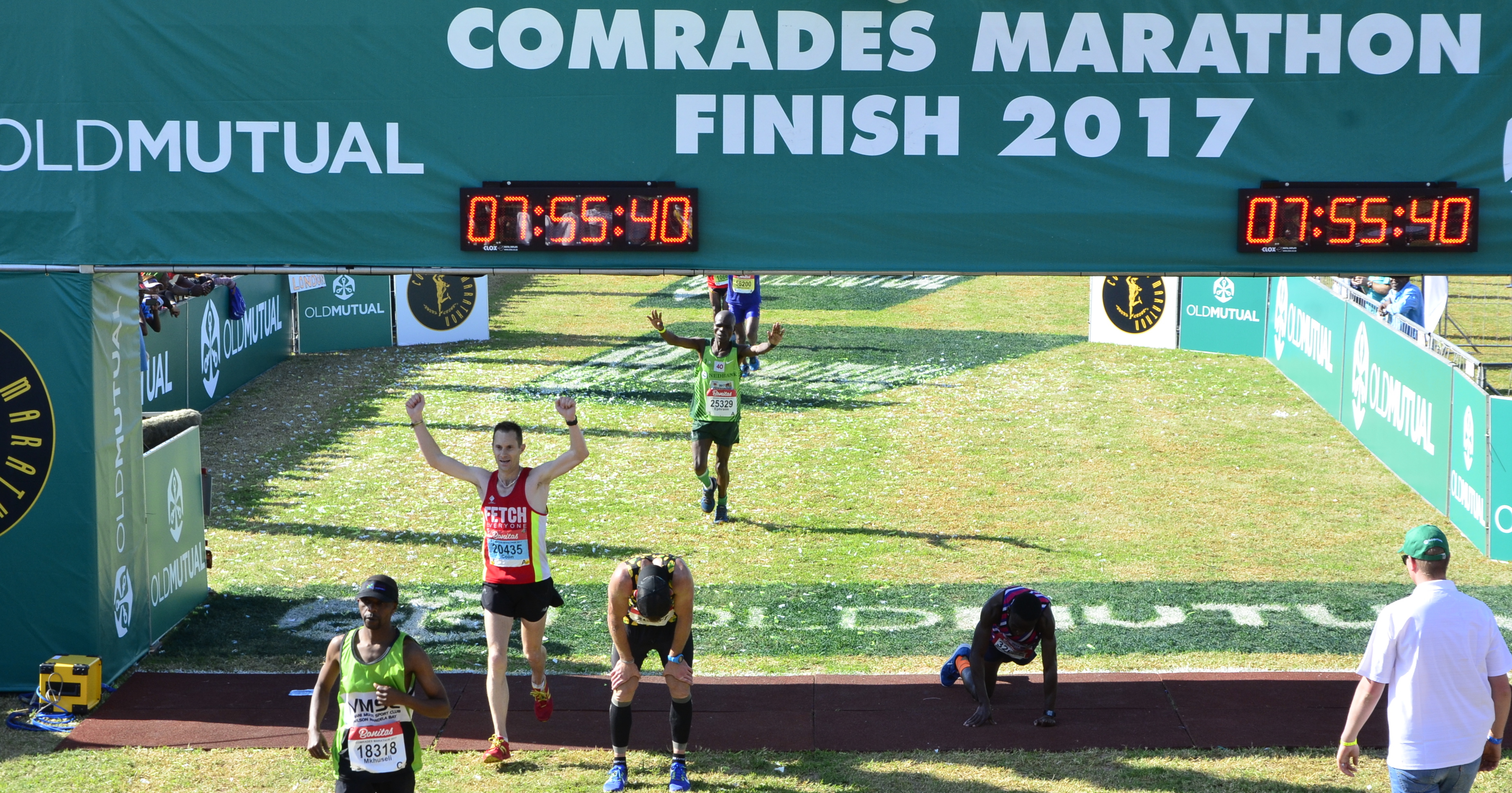 Comrades 2017 Finish