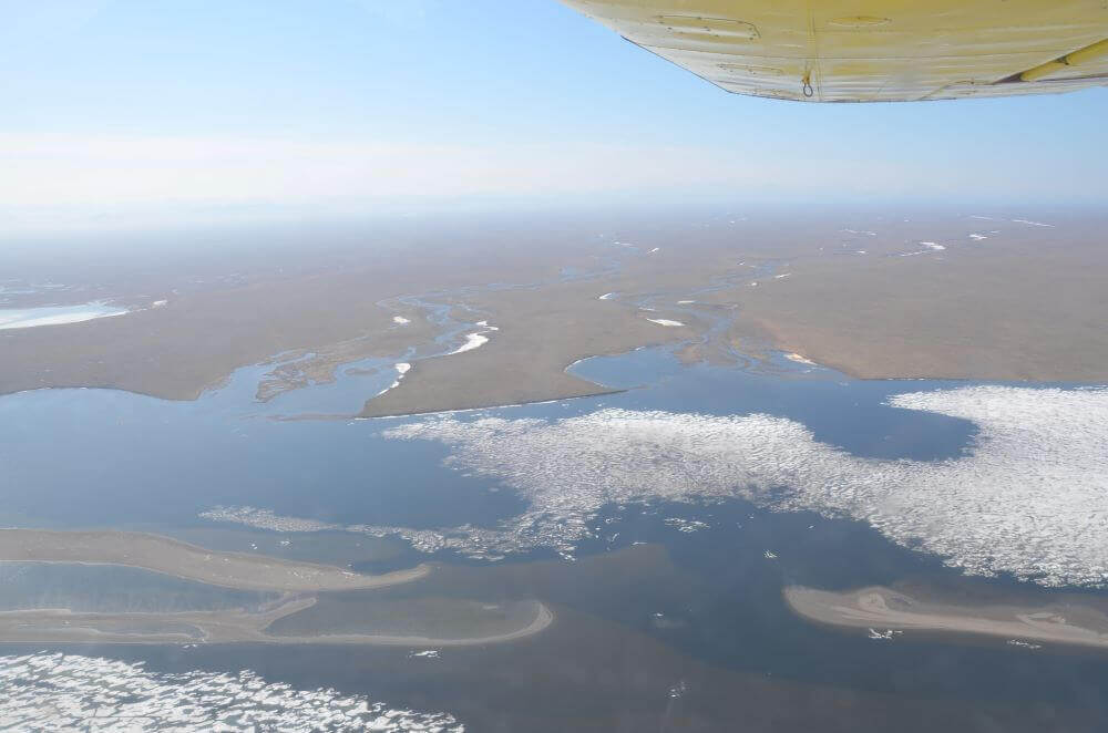 lagoon sea land connectivity
