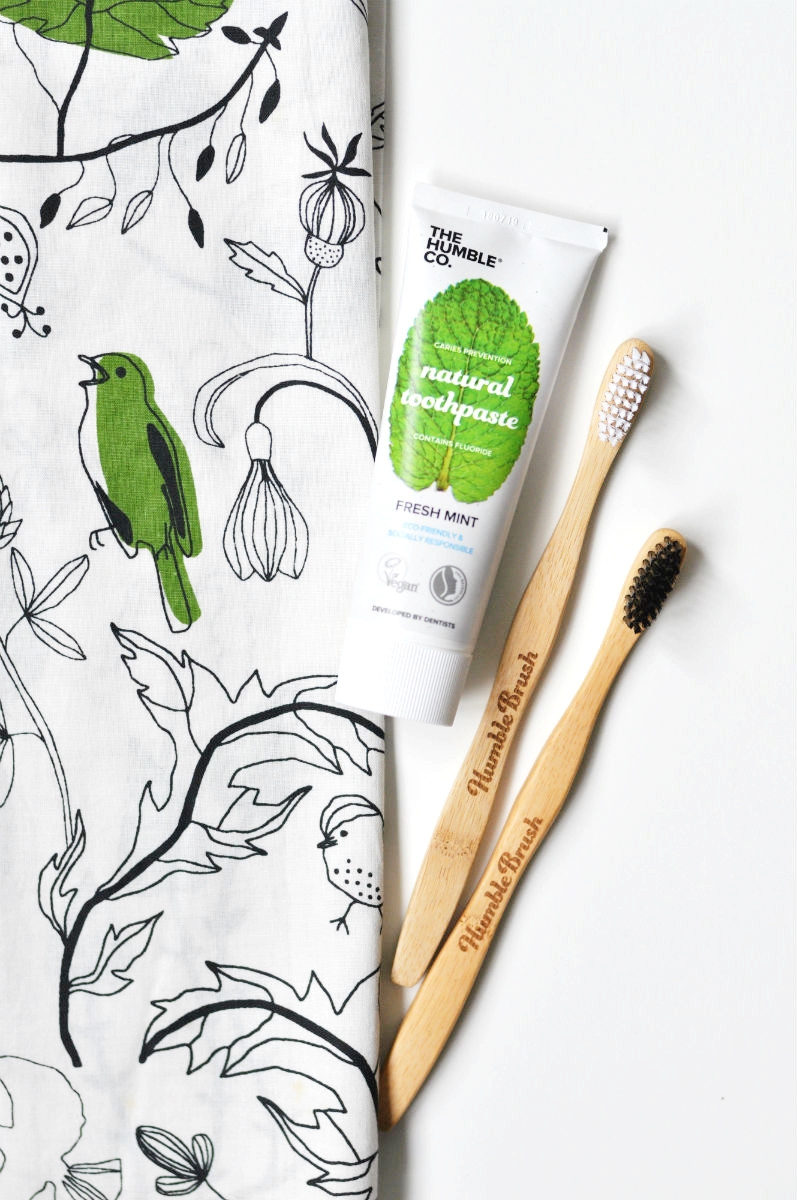 Humble Brush Toothbrush and Toothpaste