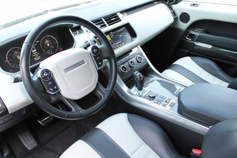 "Land Rover Range Rover Sport 5.0 V8 SVR Pano, 23"", Schaalstoelen, Carbon, afbeelding 3"