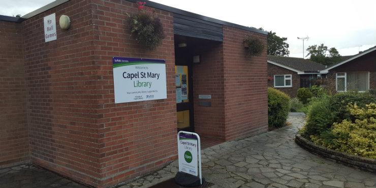 Capel St Mary Library
