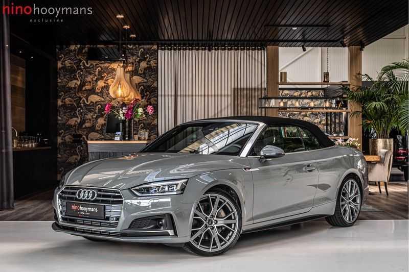Audi A5 Cabriolet 45 TFSI Sport | S Line | Tour | Sportstoelen | Matrix Led afbeelding 1