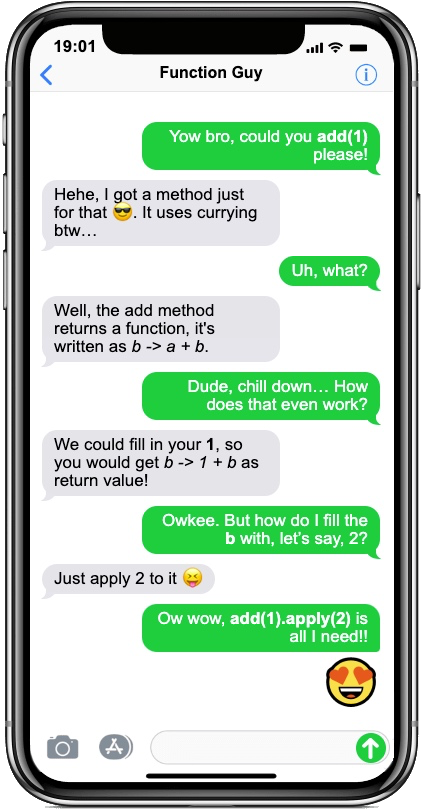 iphone currying