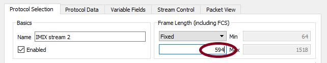 IMIX stream2 - 594 bytes