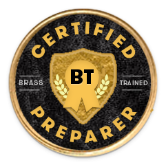 Certified Preparer badge