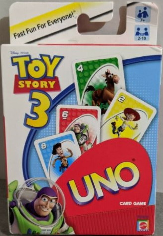 Toy Story 3 Uno