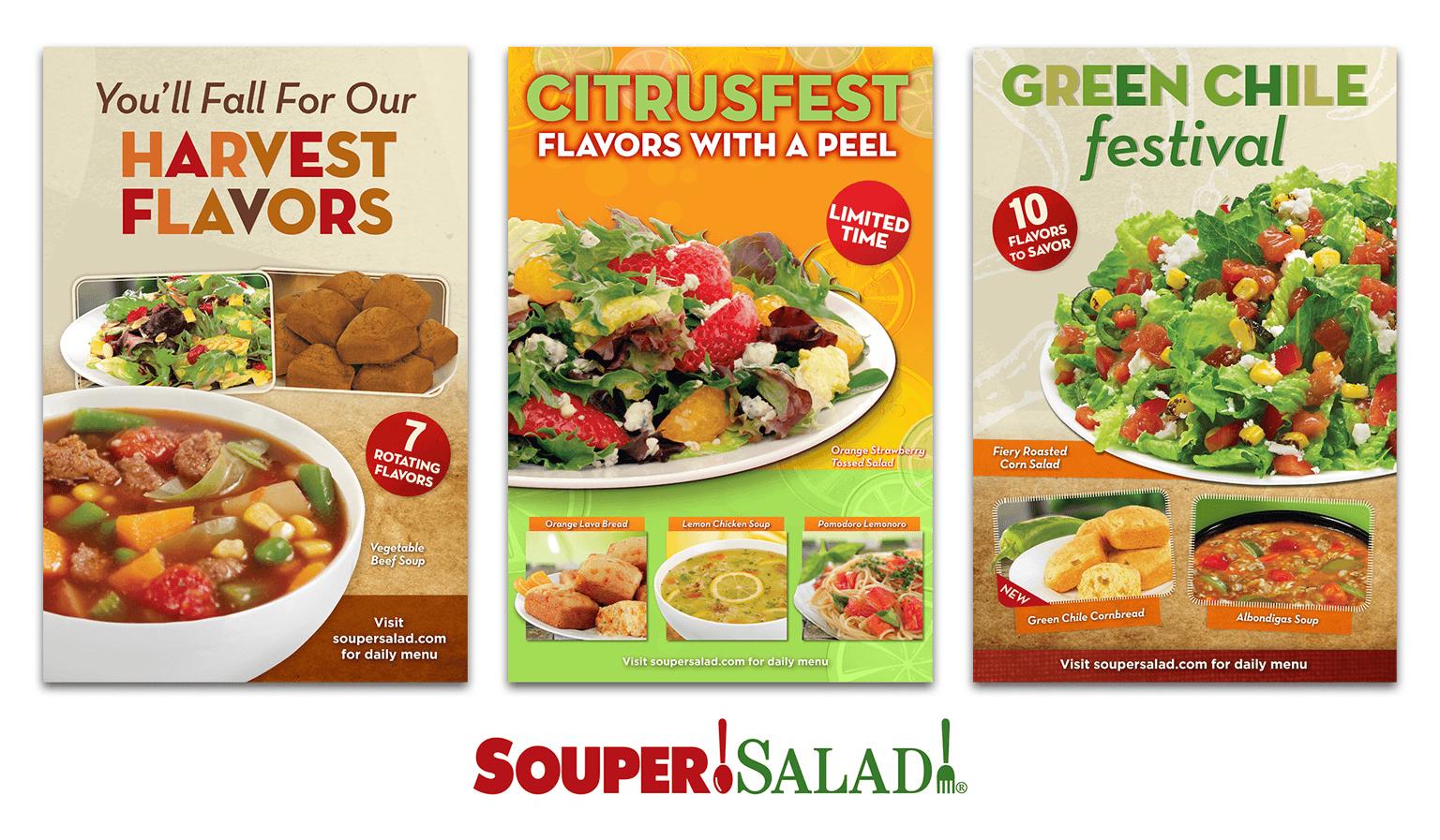Souper Salad Posters