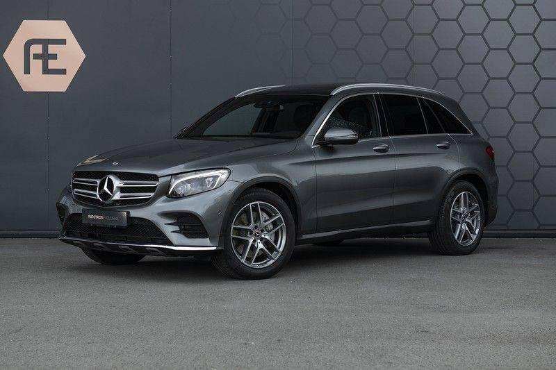 Mercedes-Benz GLC 350d AMG 4MATIC Premium Plus GLC Apple CarPlay + Verwarmde stoelen + Elektrische trekhaak + Panorama Dak afbeelding 1