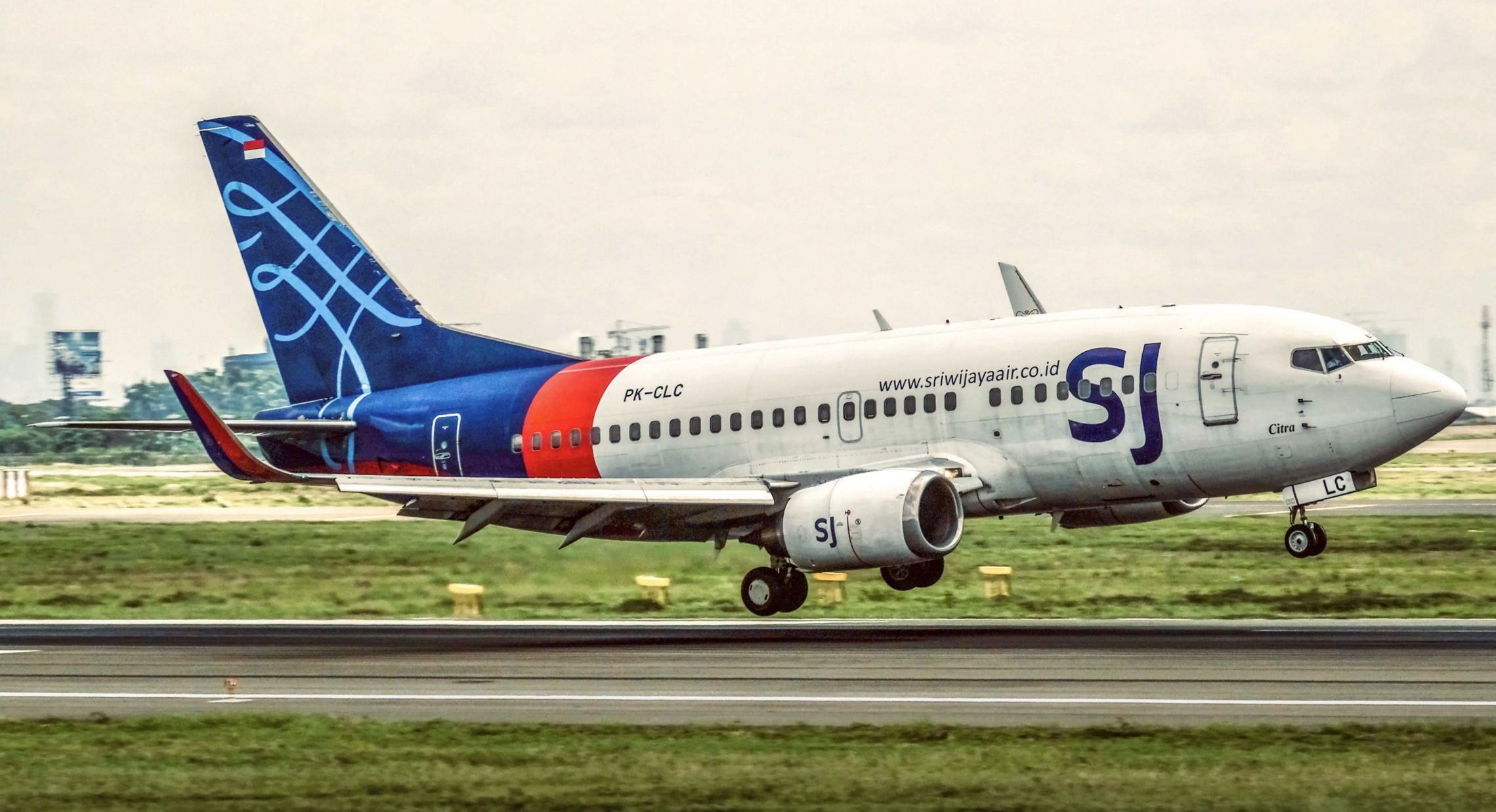 Picture of a Sriwijaya Air Lines Plane