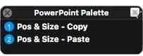 Keyboard Maestro Powerpoint Palette