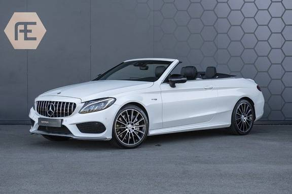 Mercedes-Benz C-Klasse Cabrio 43 AMG 4MATIC Airscarf + Aircap + Burmester + Stoelverwarming/koeling + 360 Camera