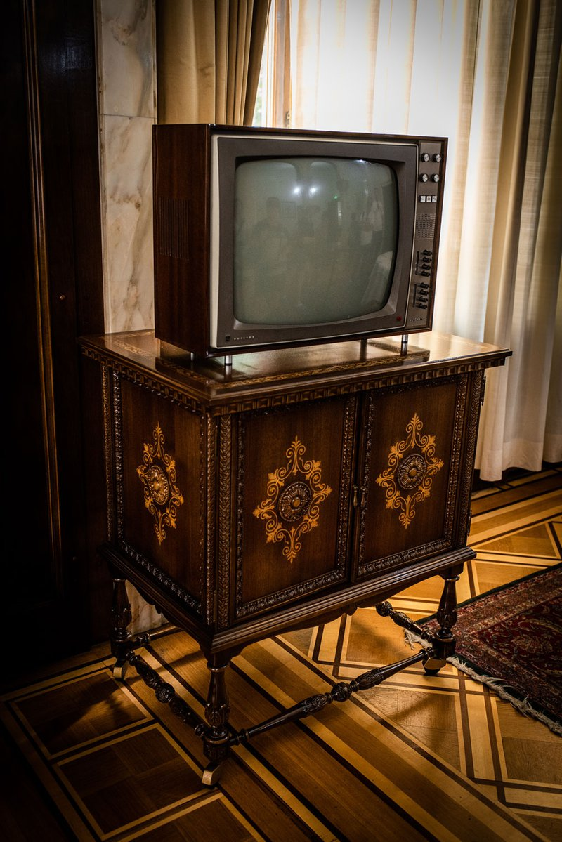 Television, Ceaușescu Palace