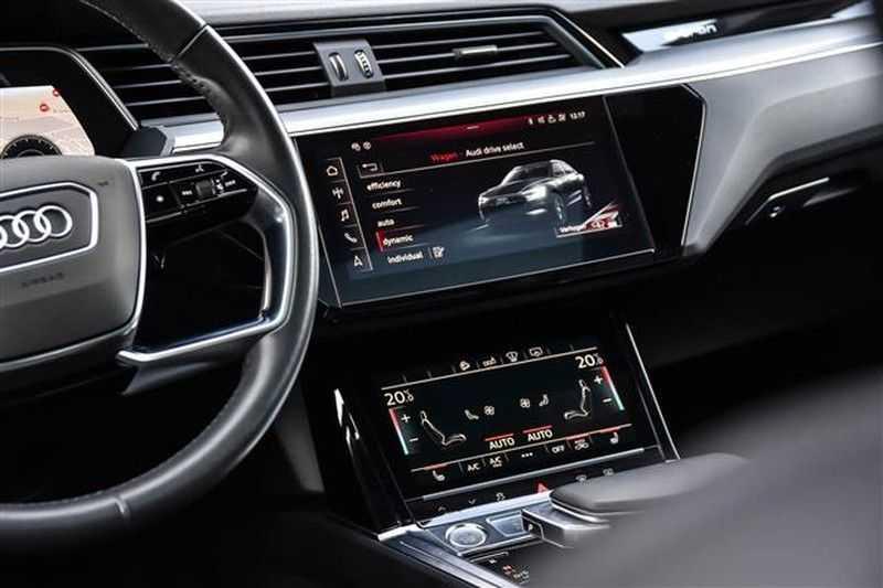Audi e-tron 55 QUATTRO PANO.DAK+360CAM+HEADUP+B&O afbeelding 16