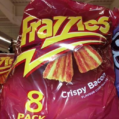Frazzles Crispy Bacon Crisps
