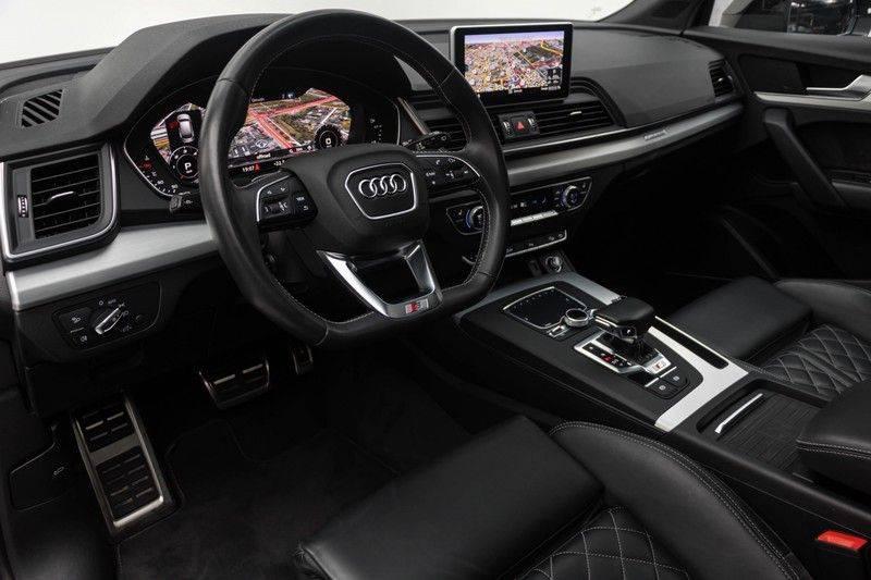 "Audi SQ5 3.0 TDI 347pk Quattro Black Edition Panoramadak Luchtvering Valconaleder B&O Keyless ACC Navi-High Matrix Camera 21""Performance Pdc Verlengde fabrieksgarantie afbeelding 17"