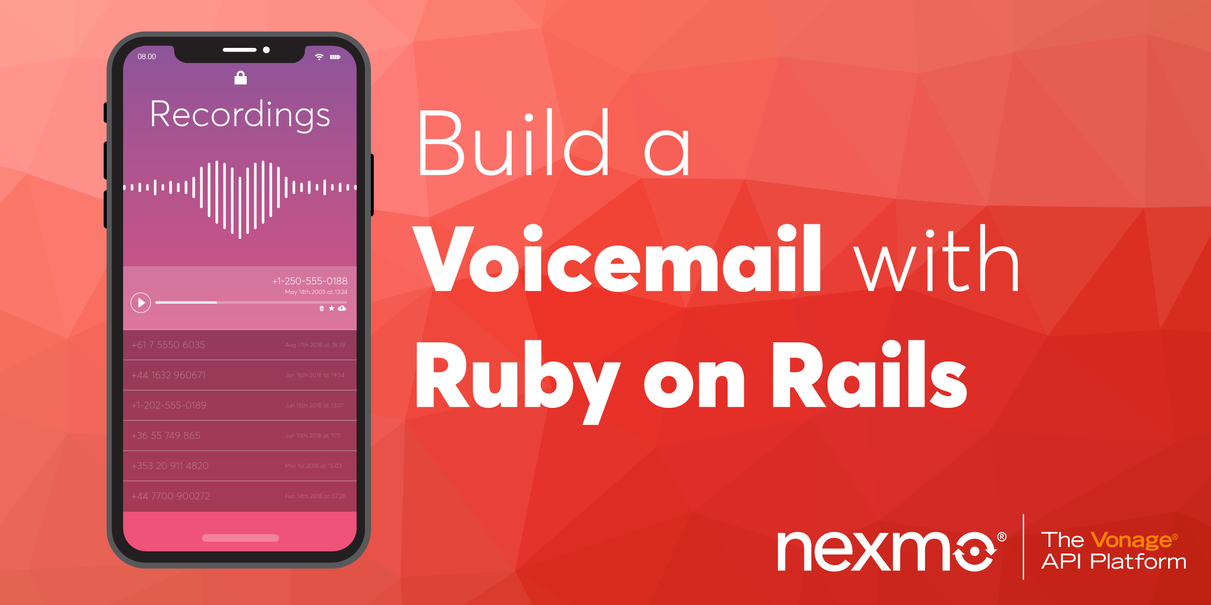 Build a Voicemail with Ruby on Rails