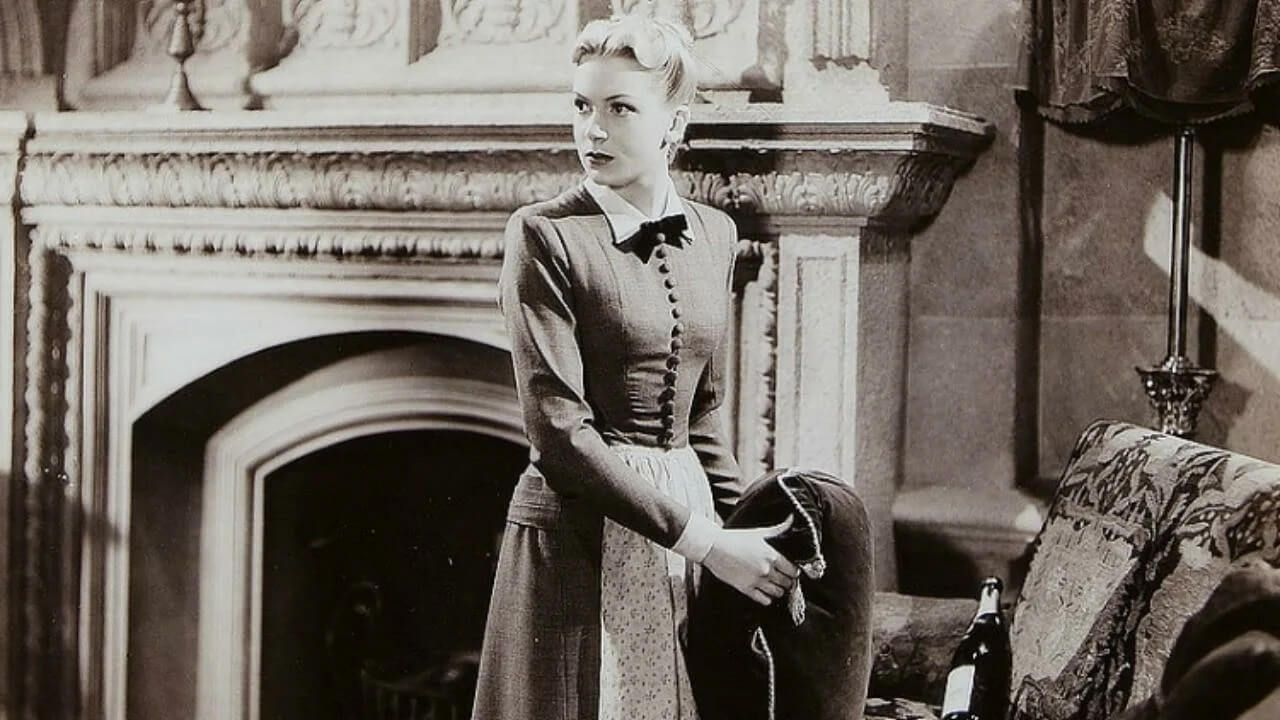 Мэри Броуди, кадр из фильма «Замок Броуди». Режиссер Лэнс Комфорт, 1942 год. Источник: mubi.com