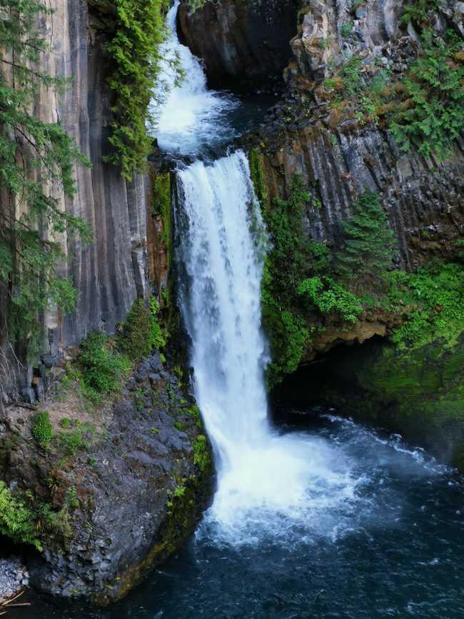 Toketee Falls