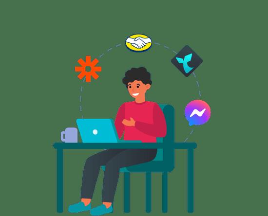 Integra Messenger con las plataformas más populares del mercado