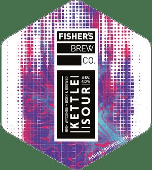 Fisher's Kettle Sour pump clip