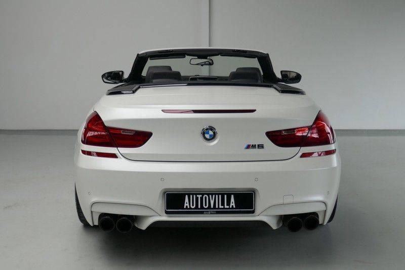 BMW 6 Serie Cabrio M6 Ceramic brakes - Akrapovic - B&O afbeelding 12
