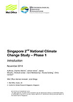 Singapore's Second National Climate Change Study – Climate Projections to 2100 Science Report