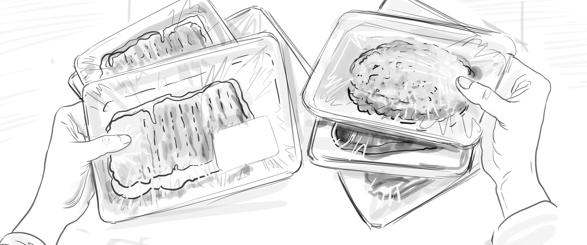 Lidl Vis TV Commercial storyboard 02