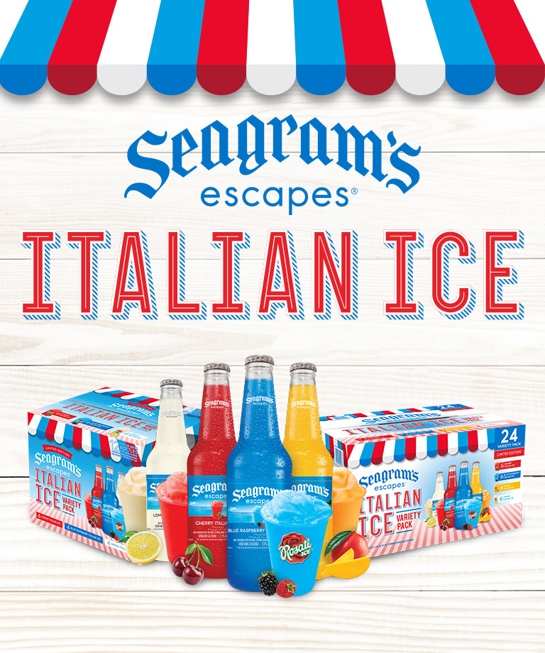 Seagram's Escapes Italian Ice is back!