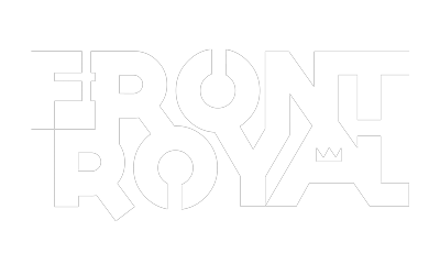 The logo for my band, Front Royal.