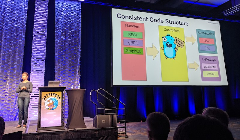 Consistent code structure