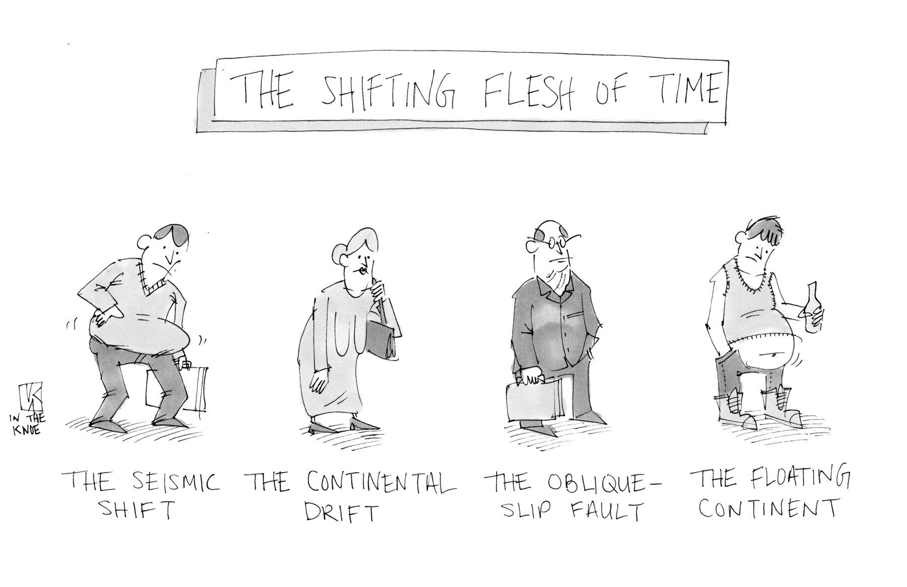 The Shifting Flesh of Time