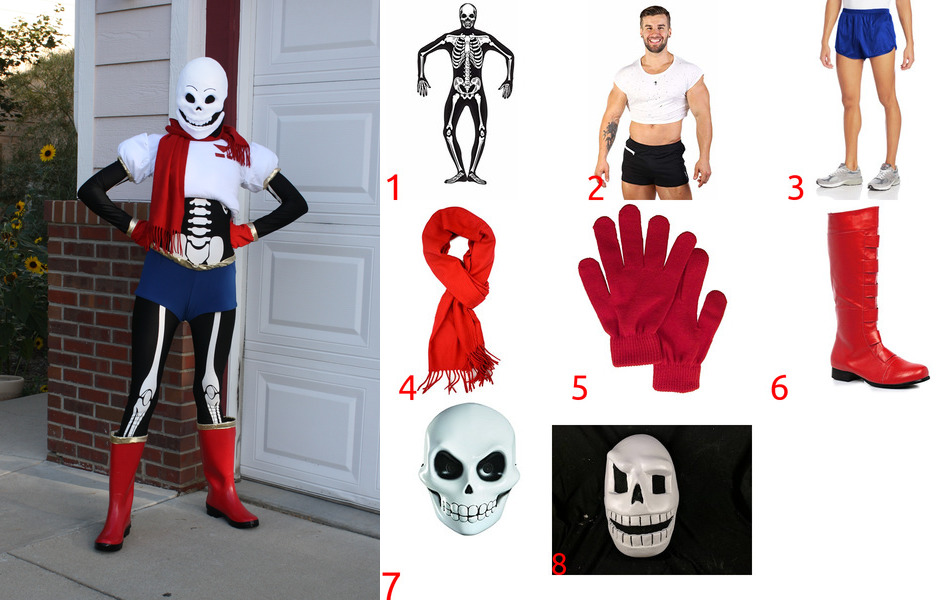 Papyrus Costume for Cosplay & Halloween
