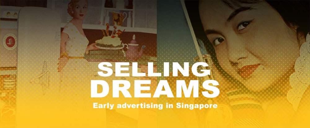 A banner with the title Selling Dreams