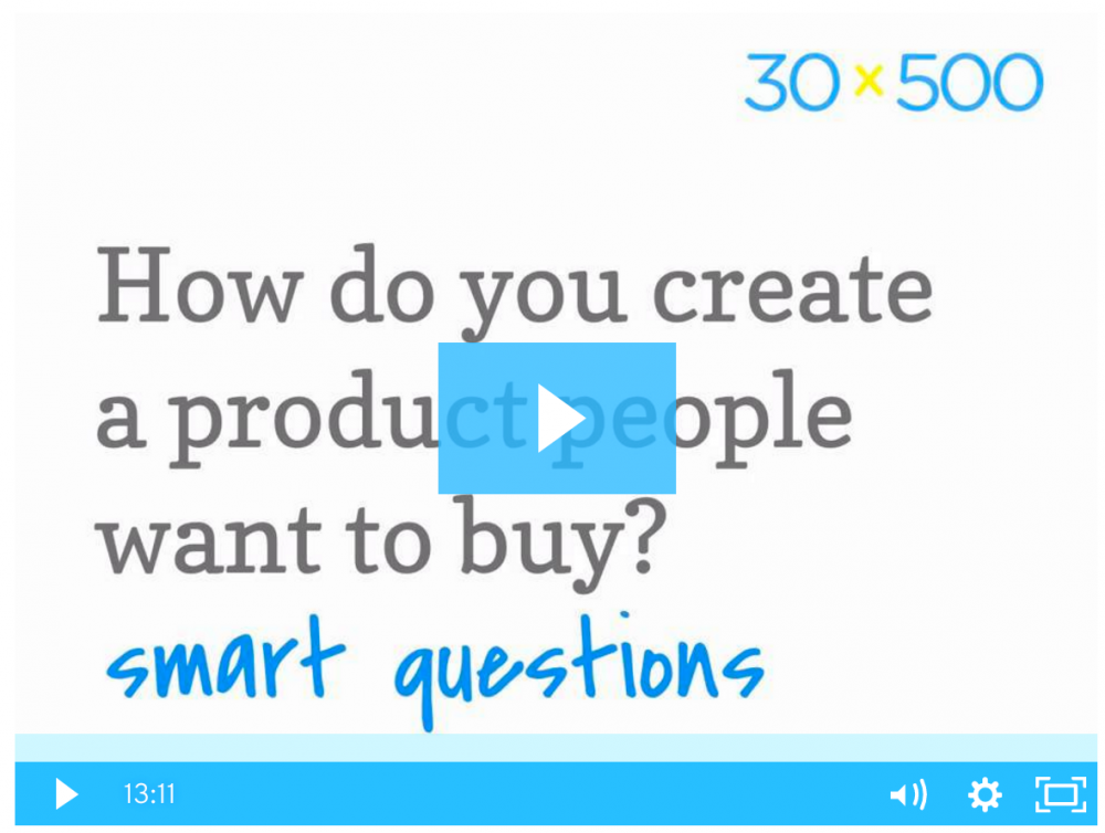 How do you create a product people want to buy\? screenshot