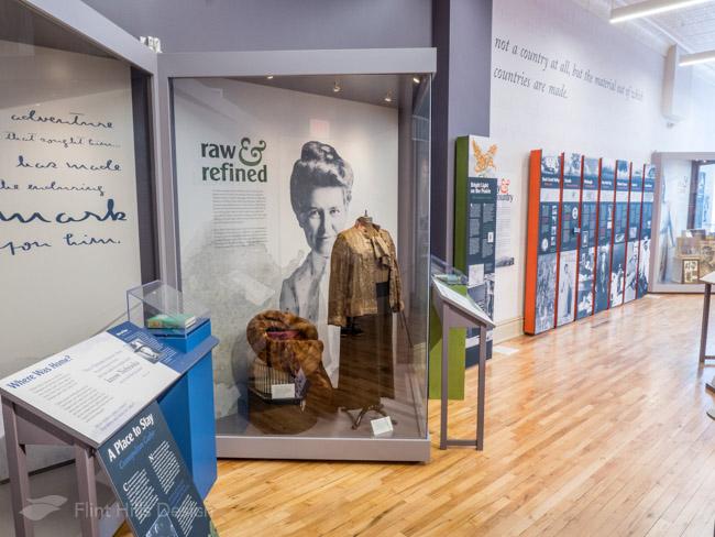 Willa Cather Exhibit artifact showcase