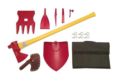 lighweight shovel axe kit