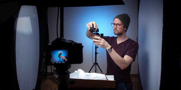 Christian Prinz im Studio
