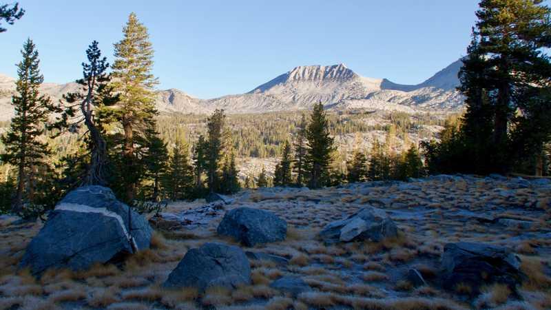 Mt. Davis in Ansel Adams Wilderness
