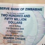 Z$250m note