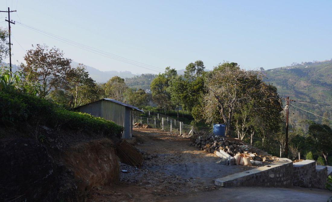 Entrance development underway